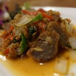 サイアム - 豚バラバジル炒め
