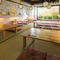 広々とした個室もあります。宴会にも最適です