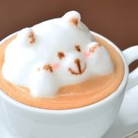 ★たかまるぅ~!!ライトカフェ名物「3Dラテアート」♪