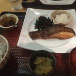 大戸屋 - 沖目鯛の醤油麹づけ炭火焼定食