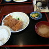 お食事処みのり - 料理写真:本日のランチ チキンカツ