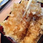 漁楽洞 - 2014/11/☆  海老天重 海老アップ♪♪