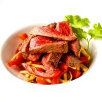 特選A5和牛肉の赤い青椒肉絲