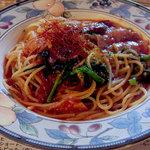 3311148 - 激辛ガーリックのトマトソーススパゲティ