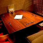 てしごとや 霽月 - 4~5名様向けの半個室席【其の壱】