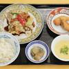 揚州商人 - 料理写真:ホイコーロー定食