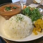 cafe shibaken - コトコト煮込んだポークストロガノフ