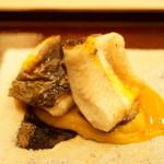 さえ喜 - 海鰻の焼物 お芋のソース