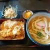 小麦 - 料理写真:ミニかつ定食980円