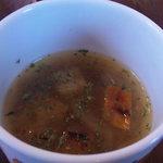 オールドフレンズ - セットのオニオンスープ
