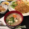 居酒屋寶珠 - 料理写真:2014/11/☆  カレーピラフ、豚汁付きです。