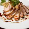 雪室熟成 黄金豚ロース肉のステーキ 燻製醤油