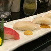 海來 - 料理写真:県産魚の食べくらべ