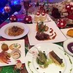 カフェ プレイズナイス - クリスマスプレミアムディナーコースお一人様5,000円税込