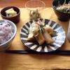 たべもの 雑貨 enowa - 料理写真:本日のランチ、ササミと大葉とチーズの春巻きがメインです