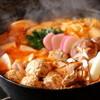鳥八 - 料理写真:鶏辛鍋