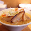 麺家 喜多楽 - 料理写真:冬季限定 2014 味噌らぁ麺 『HAKUJYU』 炙り肉盛☆