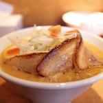 麺家 喜多楽 - 冬季限定 2014 味噌らぁ麺 『HAKUJYU』 炙り肉盛☆