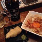 くろーんまざー - わさび醤油で食べる朝引きの美桜鶏ササミが旨い!