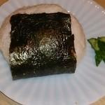 函館活いか浜料理 かみ磯 南第5ふ頭 - おにぎり