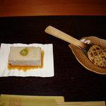 ひさご亭 - 料理写真:そばとうふ   そば味噌焼き