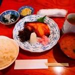 纏寿司 - 銀鱈西京焼定食¥1700