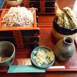 将門蕎麦 - 将門そば(そば食い放題)1200円