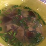 サルキッチン - 天然なめことセリのスープ