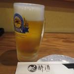 酔酒 - 生ビール