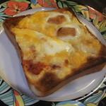 珈琲艇キャビン - チーズトースト