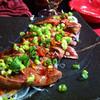 信田流 - 料理写真:鶏レバーのたたき