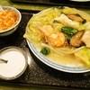 新愛園 - 料理写真:海鮮あんかけ焼きそば