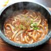 さぬきの麺家 香風 - 料理写真:石焼きカレーうどん