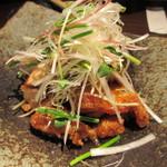 雷門 き介 - 揚げ鶏の甘辛竜田揚げ