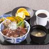 ウォーターマークホテル長崎 - 料理写真:第四回ご当地グルメ王者決定戦「優勝」九州産黒毛和牛ステーキ丼」ランチでタイムに登場