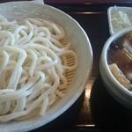 麦の蔵 - なす肉汁うどん・並(¥830)