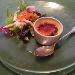 ビ アバンス - シェフおまかせのオードブル チーズのブリュレ