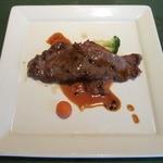 ビ アバンス - 今日のメインディッシュ又はおすすめのお肉料理 牛のサーロイン