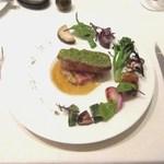 33274428 - メイン~塩漬け豚バラ肉のパセリパン粉焼き