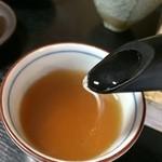 えぼし庵 - 蕎麦湯