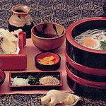 東京庵 - 料理写真:天ぷら釜揚げはボリュームたっぷり!