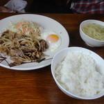 前田食堂 - 牛肉おかず