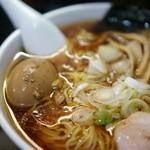 一条流がんこラーメン 総本家 - スープと味玉子