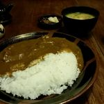 たくみ割烹店 - 鳥取和牛みそ煮込カレー