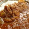 デコイ - 料理写真:2012年11月 カツインドカレー800円 かなり独創的なカレーでした!