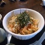 蕎麦の三心 - 料理写真:桜えびのおろしそば