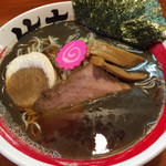 竹本商店 - 2014/12/9煮干しラーメン並740円細麺
