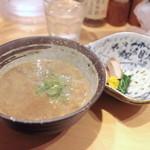 銀座 篝 - 煮干つけSOBA 並 (900円) '14 11月中旬