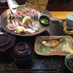 大漁市場 こんぴら丸 - 恵比寿さば定食 1,728円