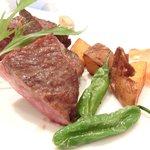 ステーキ そらしお - 和牛サーロインステーキ(150g) 3500円